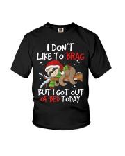 I Dont Like To Brag Youth T-Shirt thumbnail