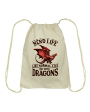 Nerd Life Drawstring Bag thumbnail