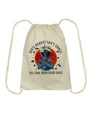 She Came From Outer Space Drawstring Bag thumbnail