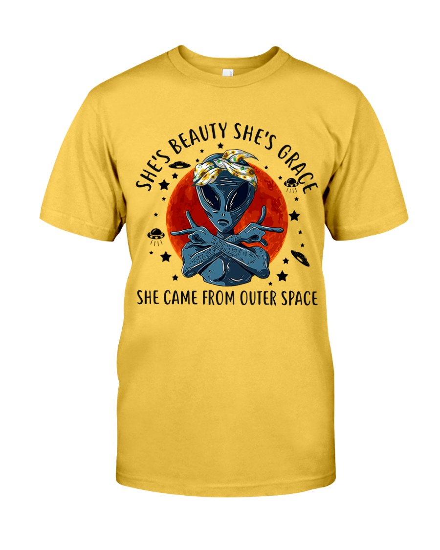 She Came From Outer Space Classic T-Shirt
