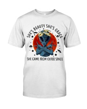 She Came From Outer Space Classic T-Shirt tile