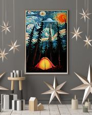 Camping Starry Night UFO Art 11x17 Poster lifestyle-holiday-poster-1