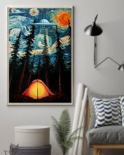 Camping Starry Night UFO Art 11x17 Poster lifestyle-poster-1