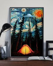 Camping Starry Night UFO Art 11x17 Poster lifestyle-poster-2