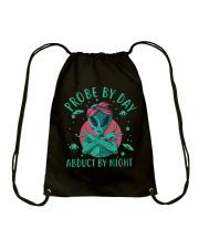 Probe By Day Drawstring Bag thumbnail