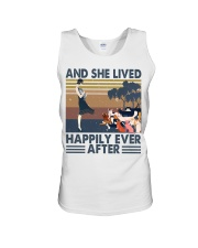 And She Lived Happily Unisex Tank thumbnail
