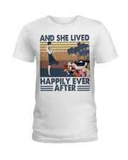 And She Lived Happily Ladies T-Shirt thumbnail