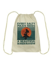 Every Salty A Beautiful Drawstring Bag tile