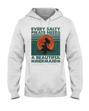 Every Salty A Beautiful Hooded Sweatshirt front