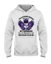 Im A Strong Woman Hooded Sweatshirt thumbnail