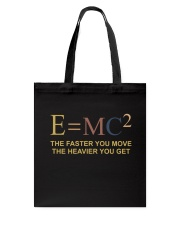 The Faster You Move Tote Bag thumbnail