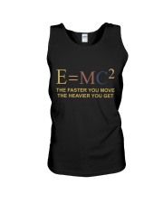 The Faster You Move Unisex Tank thumbnail