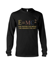 The Faster You Move Long Sleeve Tee thumbnail