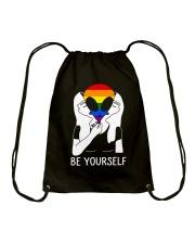 Be Yourself Drawstring Bag thumbnail