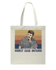Worst Case Ontario Tote Bag thumbnail