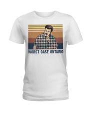 Worst Case Ontario Ladies T-Shirt thumbnail