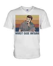 Worst Case Ontario V-Neck T-Shirt thumbnail