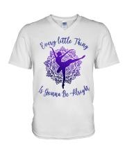 Every Little Thing V-Neck T-Shirt thumbnail