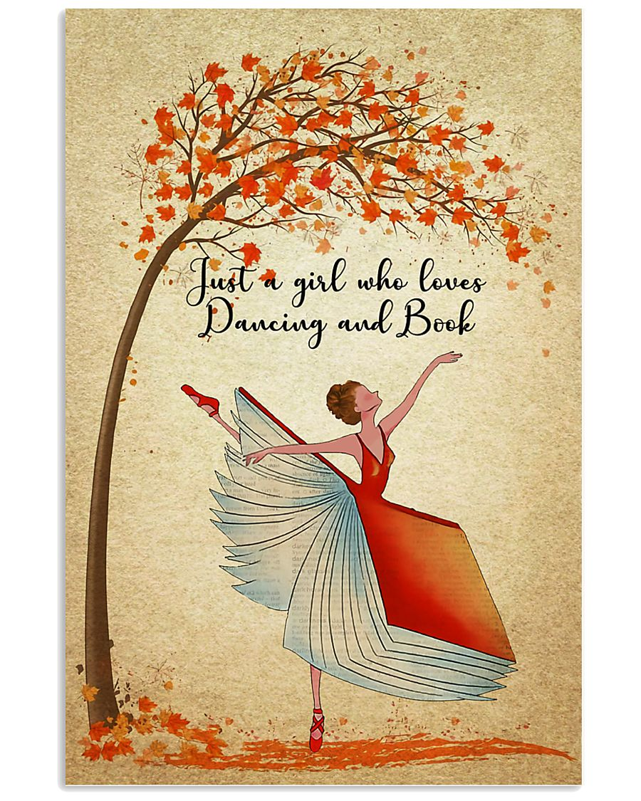 Dancing And Book 11x17 Poster