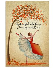 Dancing And Book 11x17 Poster front