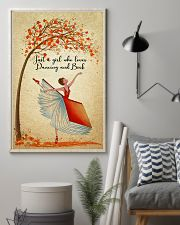 Dancing And Book 11x17 Poster lifestyle-poster-1