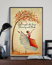 Dancing And Book 11x17 Poster lifestyle-poster-2