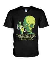 Take Me 2 UR V-Neck T-Shirt thumbnail