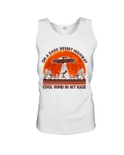 On A Dark Desert Highway Unisex Tank tile