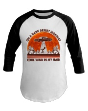 On A Dark Desert Highway Baseball Tee tile