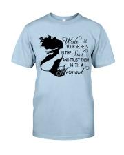 Write Your Secrets Classic T-Shirt front