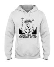 Not All Those Cows Hooded Sweatshirt thumbnail