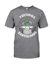 Yeetings Classic T-Shirt front