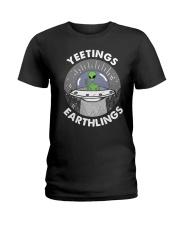Yeetings Ladies T-Shirt thumbnail