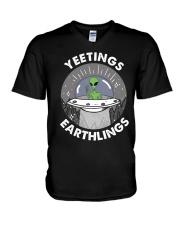 Yeetings V-Neck T-Shirt thumbnail