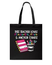 This Teacher Loves Tote Bag thumbnail