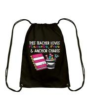 This Teacher Loves Drawstring Bag thumbnail