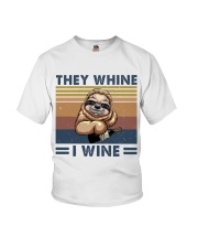 They Wine I Wine Youth T-Shirt thumbnail