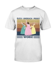 Work Classic T-Shirt front