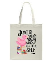 Jusst Be Own Unique Tote Bag thumbnail