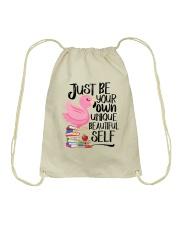 Jusst Be Own Unique Drawstring Bag thumbnail
