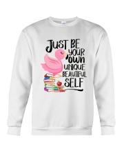 Jusst Be Own Unique Crewneck Sweatshirt thumbnail