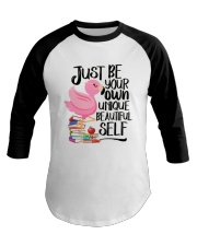 Jusst Be Own Unique Baseball Tee thumbnail