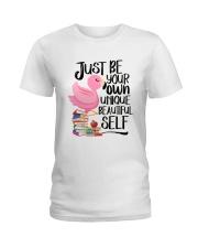 Jusst Be Own Unique Ladies T-Shirt thumbnail