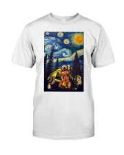 Beer With Bear Camping Poster Classic T-Shirt thumbnail