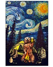 Beer With Bear Camping Poster 11x17 Poster front