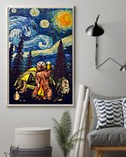 Beer With Bear Camping Poster 11x17 Poster lifestyle-poster-1