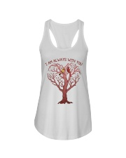 I Am Always With You Ladies Flowy Tank thumbnail