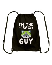 I Am The Trash Guy Drawstring Bag thumbnail