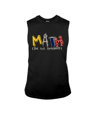 Math She Has Problem Sleeveless Tee thumbnail