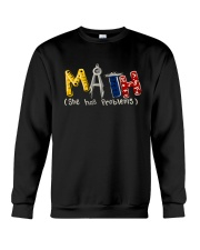 Math She Has Problem Crewneck Sweatshirt thumbnail